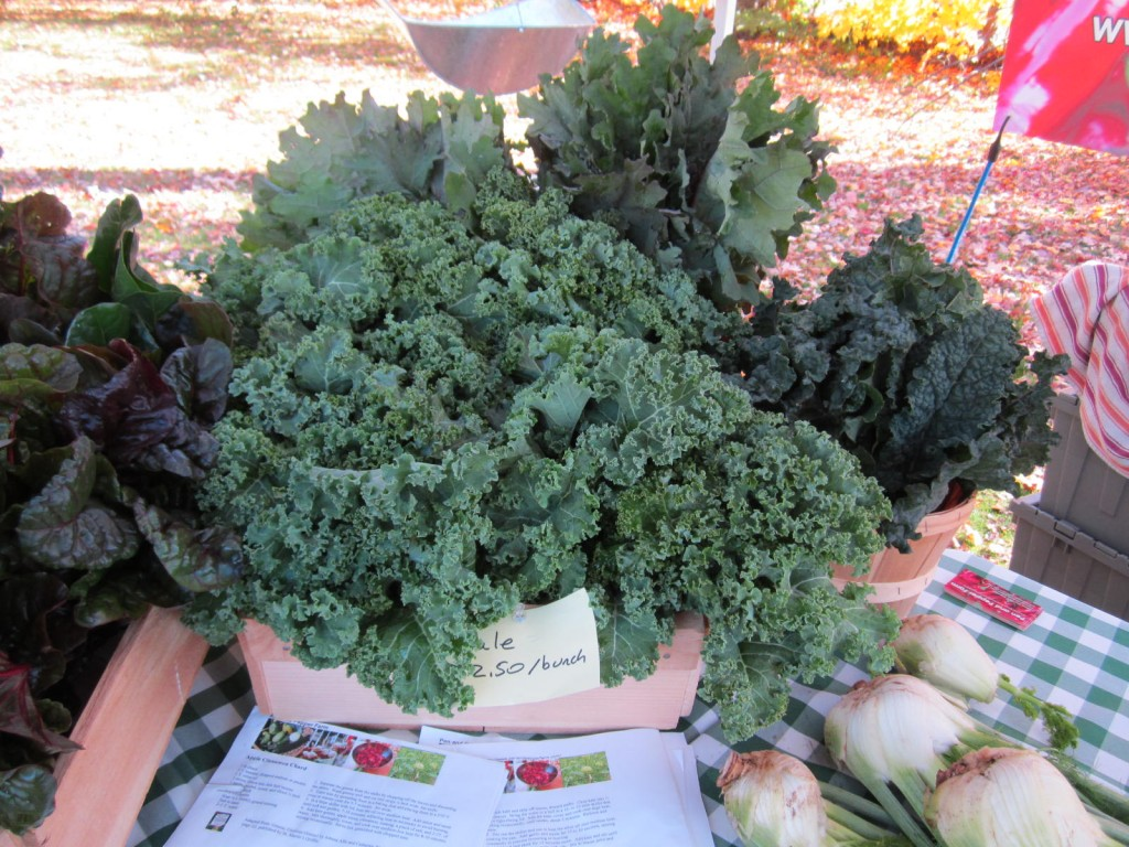 kale at the market